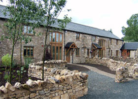 Barn conversion by Lanquest Properties, Builders, Cumbria